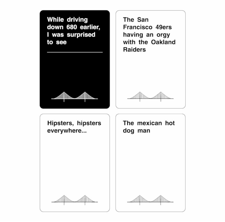 Have You Ever Played Cards Against Humanity - Cards Against within Cards Against Humanity Template