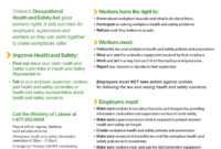 Health And Safety Training Online – Employment North throughout Health And Safety Board Report Template