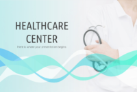Healthcare Center – Free Presentation Template For Google in Free Nursing Powerpoint Templates