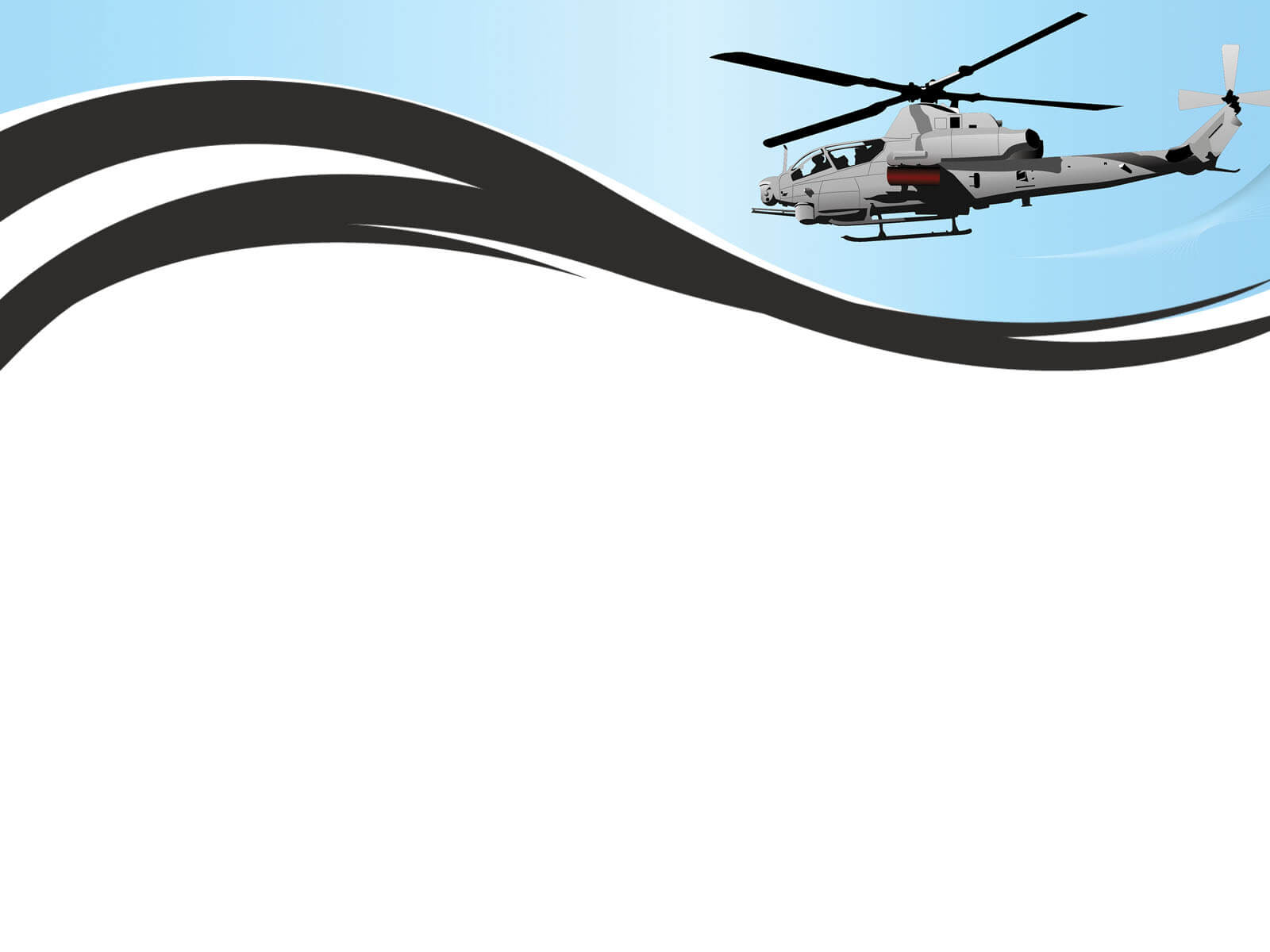 Helicopter Background Powerpoint Templates - Car within Air Force Powerpoint Template