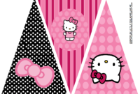 Hello Kitty Birthday Party Banner. This Is One Of 2 regarding Hello Kitty Birthday Banner Template Free