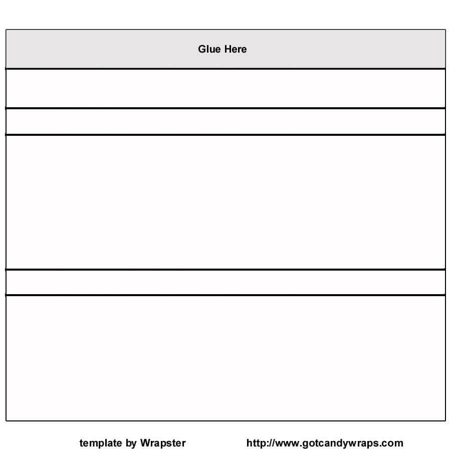 Hershey Bar Wrapper Template Free / Hershey Template Regarding Candy Bar Wrapper Template For Word