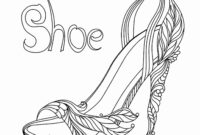High Heel Drawing Template At Paintingvalley | Explore intended for High Heel Shoe Template For Card