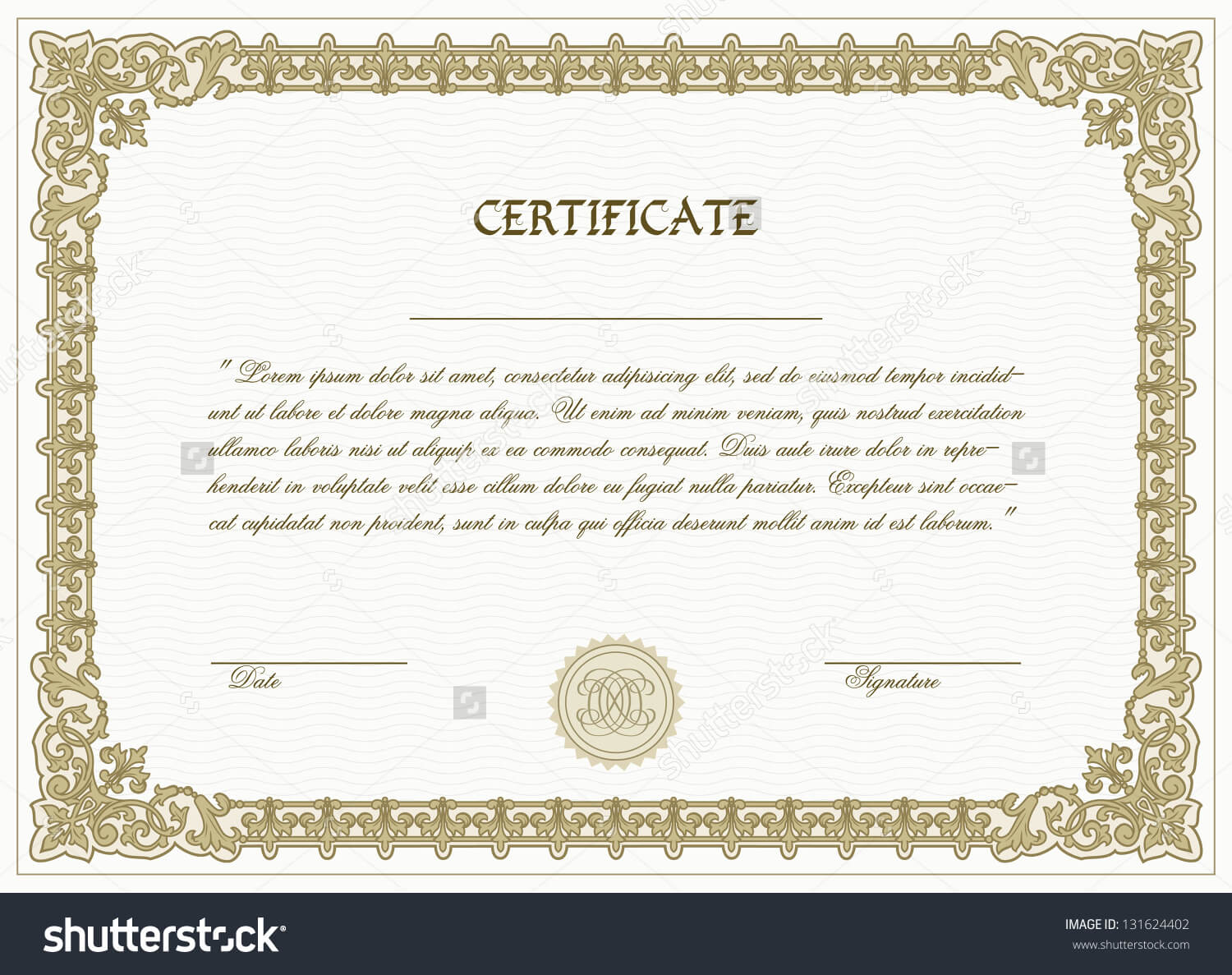 High Resolution Certificate Template - Atlantaauctionco In High Resolution Certificate Template