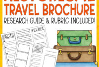 Historical Travel Brochure And Research Project | Literacy throughout Brochure Rubric Template