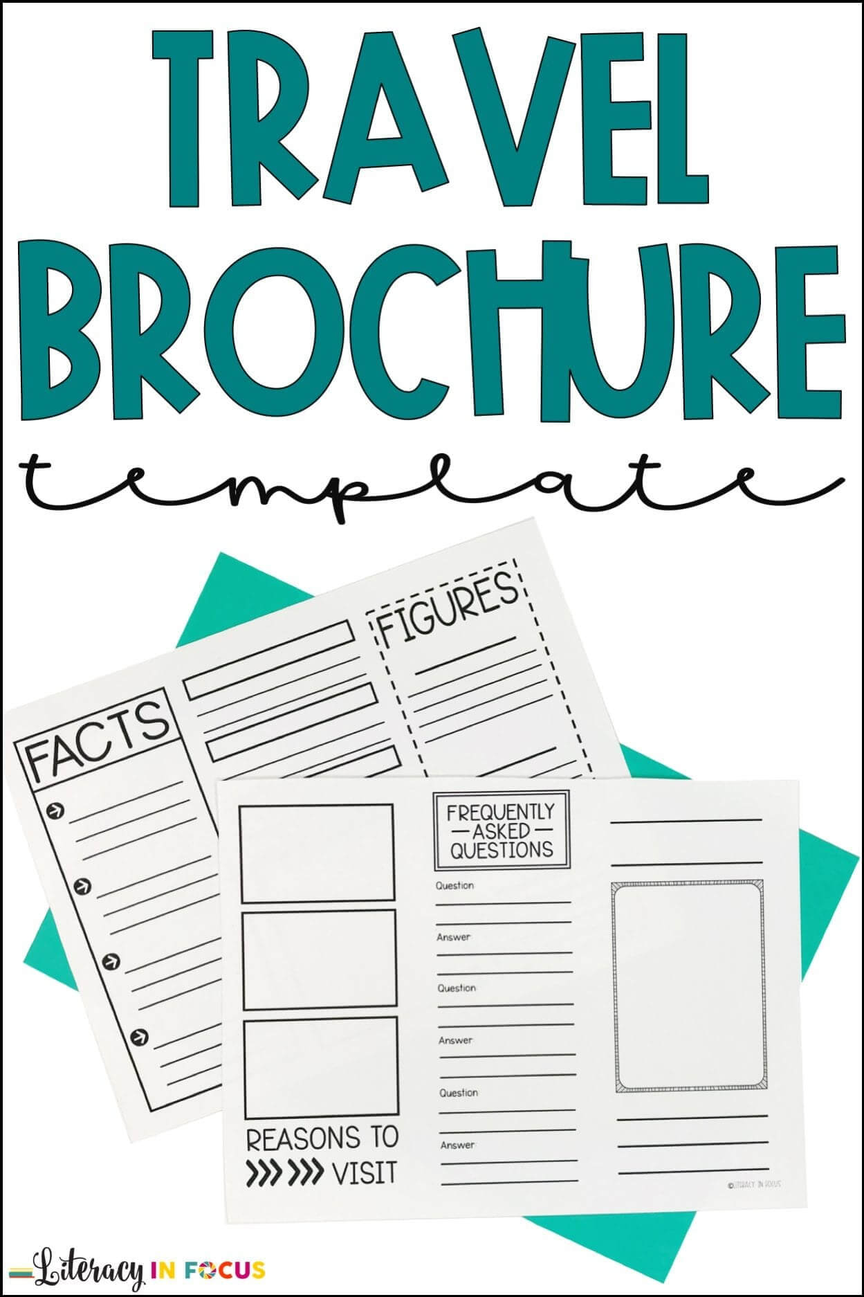 Historical Travel Brochure And Research Project | Literacy with Brochure Rubric Template
