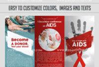 Hiv Aids Brochure Templates – Atlantaauctionco regarding Hiv Aids Brochure Templates