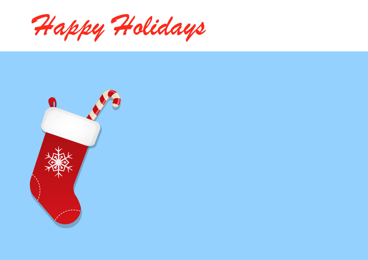Holiday Greeting Templates - Magdalene-Project for Holiday Card Email Template