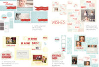 Holiday Photo Card Templates | Whimsy And Good Cheer With Free Christmas Card Templates For Photographers