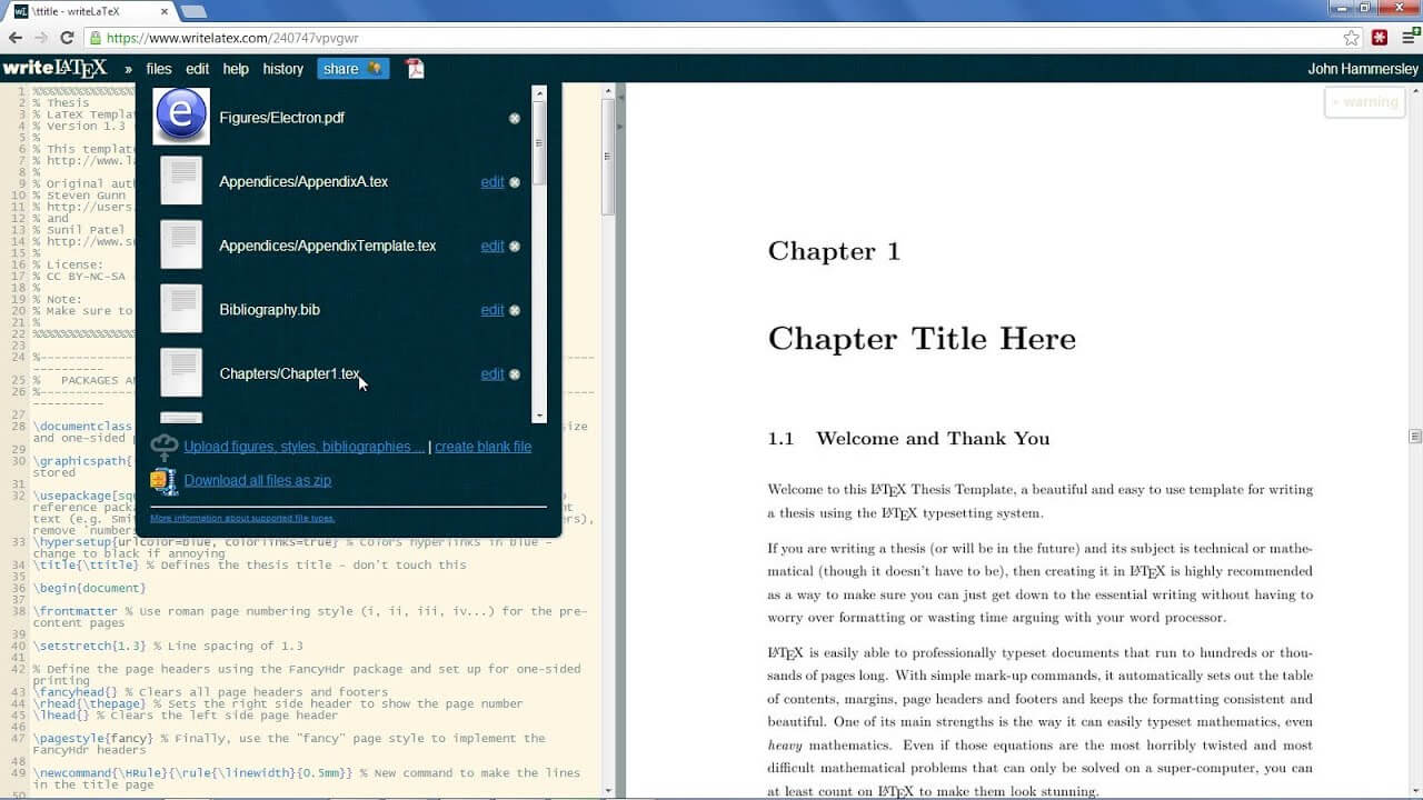 Home - Overleaf For Latex Theses & Dissertations - Libguides in Ms Word Thesis Template