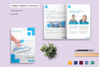 Home Product Catalog Template throughout Catalogue Word Template