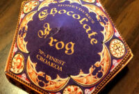 Honeyduke's Chocolate Frog Box: 6 Steps (With Pictures) regarding Chocolate Frog Card Template