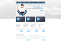 Hosting Responsive Website Template pertaining to Reporting Website Templates