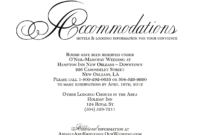 Hotel Accommodation Cards – Google Search | Wedding Throughout Wedding Hotel Information Card Template