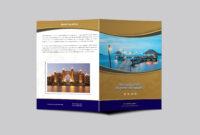Hotel Resort Bi-Fold Brochure Design Template | Psd Premium with Hotel Brochure Design Templates