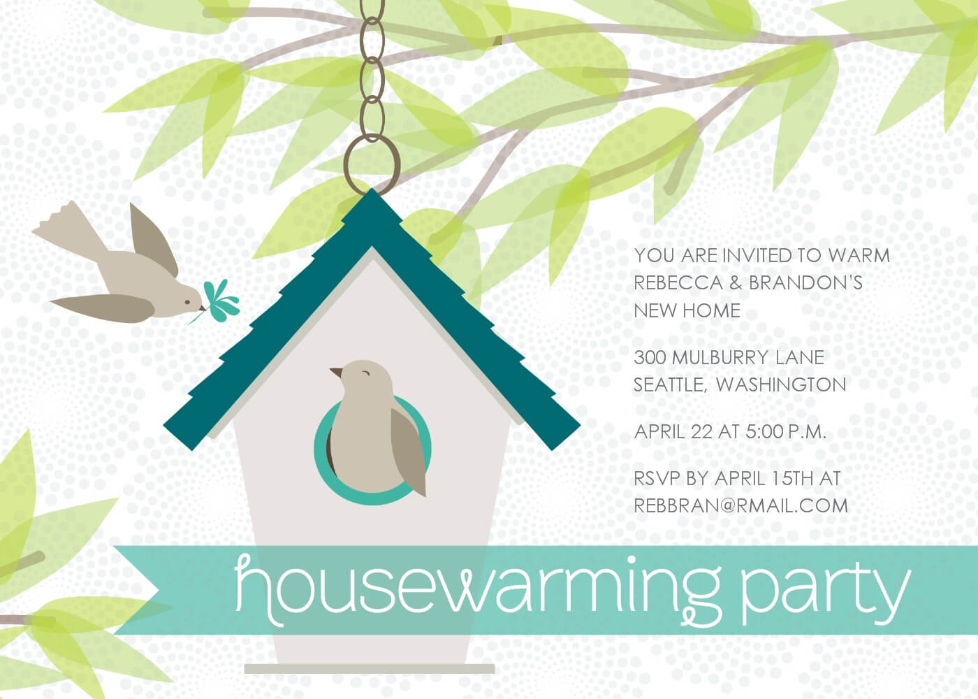 Housewarming Card Template - Yupar.magdalene-Project with regard to Free Housewarming Invitation Card Template