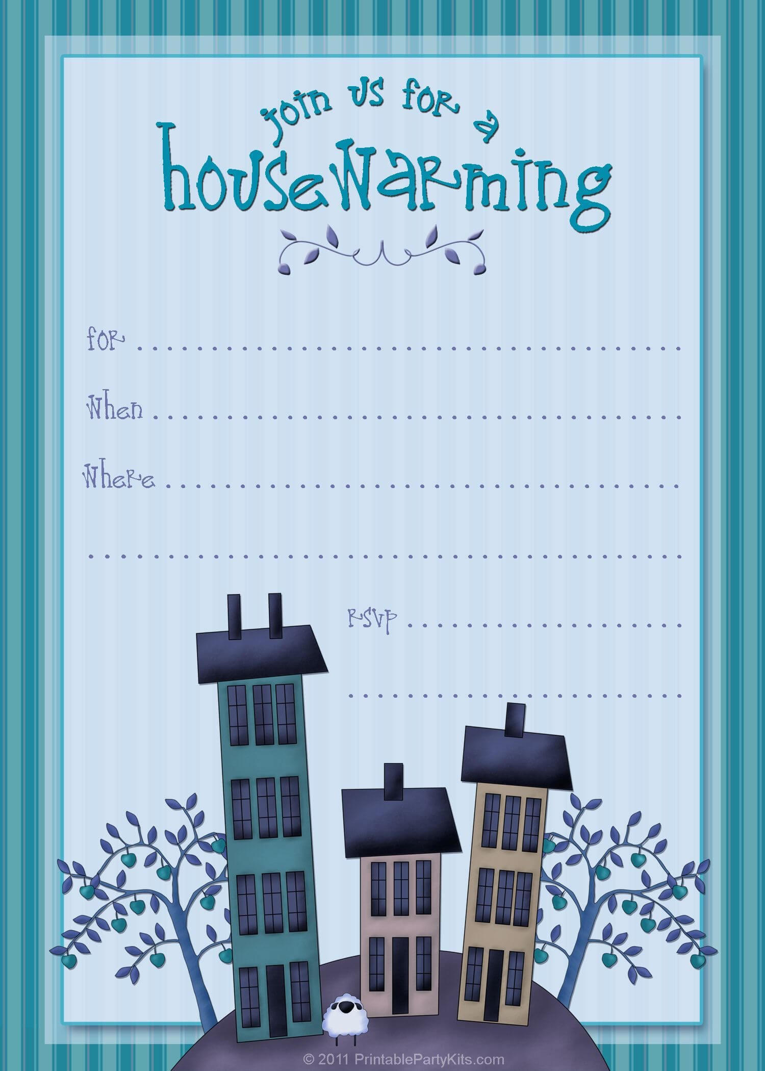Housewarming Invite Template | Housewarming Invitation in Free Housewarming Invitation Card Template