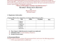 How A Market Research Benefits Your Business   Free in Market Research Report Template