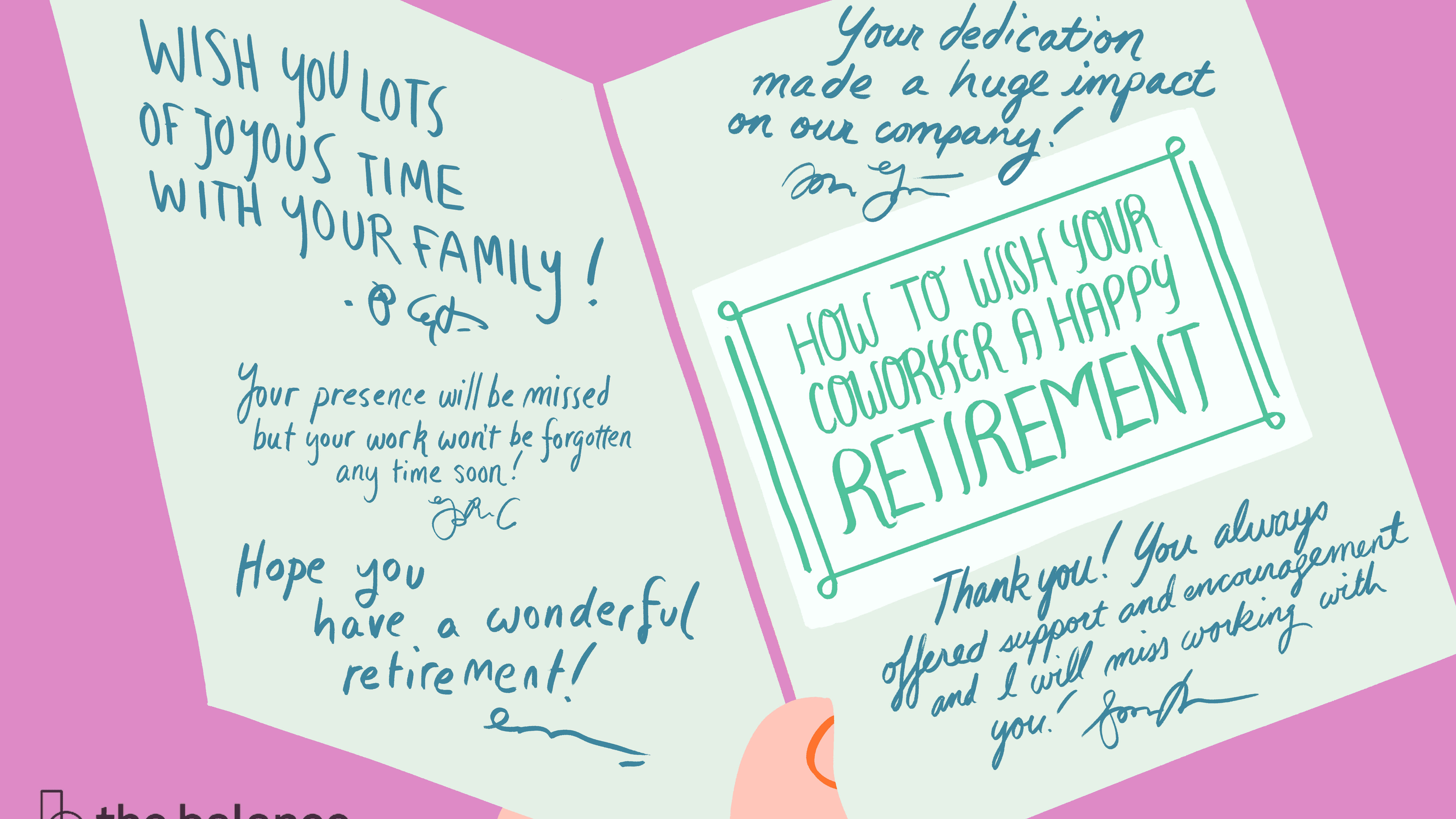 How To Best Wish Your Coworker A Happy Retirement within Retirement Card Template