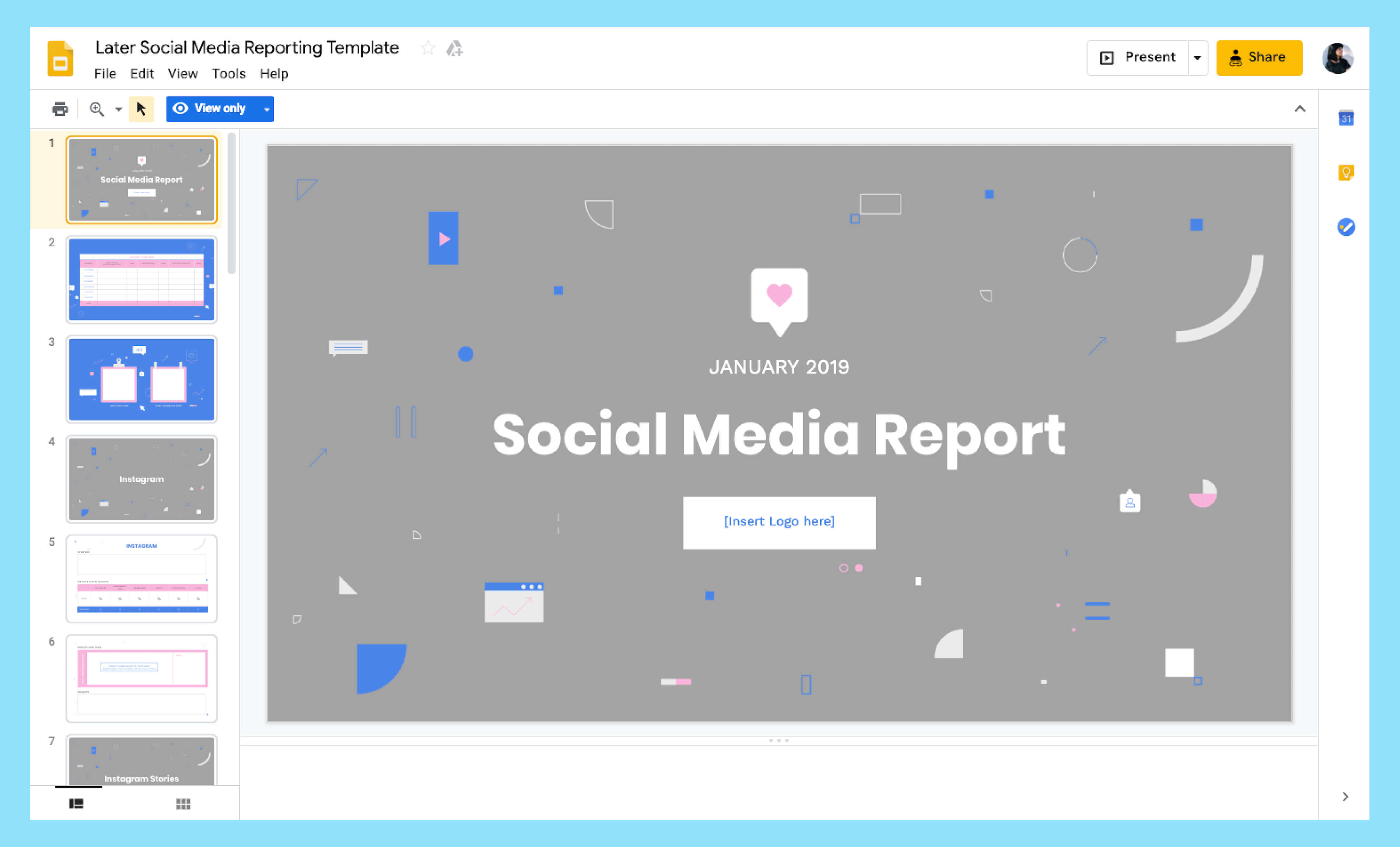 How To Build A Monthly Social Media Report Throughout Social Media Report Template