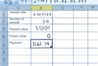 How To Calculate Credit Card Payments In Excel: 10 Steps regarding Credit Card Interest Calculator Excel Template