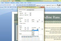 How To Change The Default Template In Microsoft Word regarding Creating Word Templates 2013