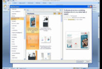 How To Create A Brochure With Microsoft Word 2007 throughout Ms Word Brochure Template