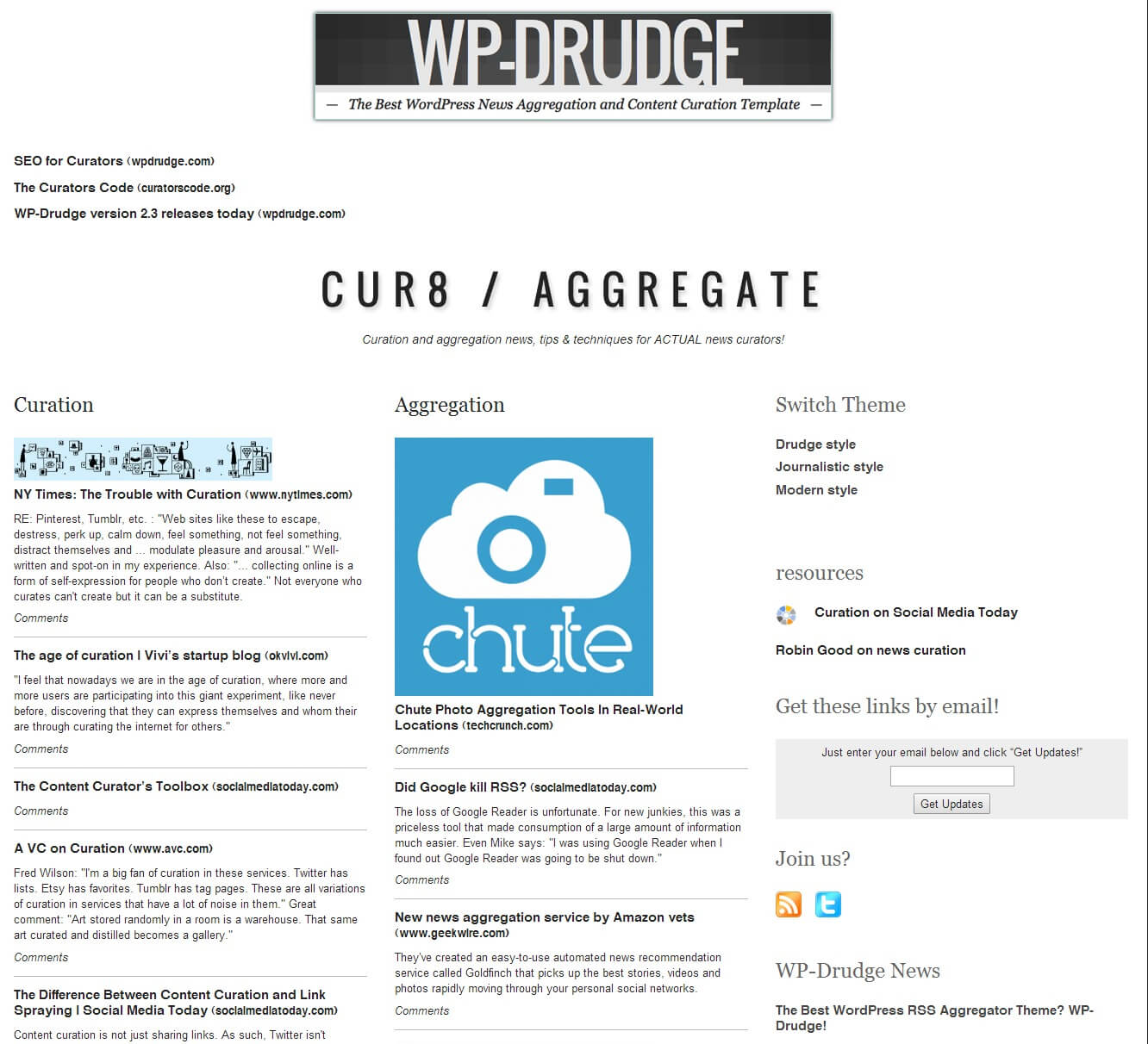 How To Create A Drudge Report Clone Using Wp Drudge - Wp Mayor Inside Drudge Report Template