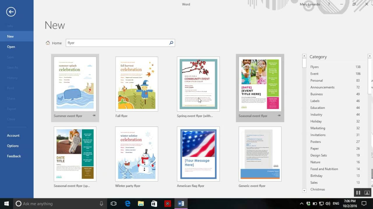 - How To Create A Flyer On Word 2016 with Templates For Flyers In Word