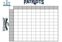 How To Create A (Fun) Super Bowl Betting Chart throughout Football Betting Card Template