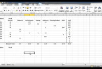 How To Create A Petty Cash Template Using Excel – Part 4 throughout Petty Cash Expense Report Template