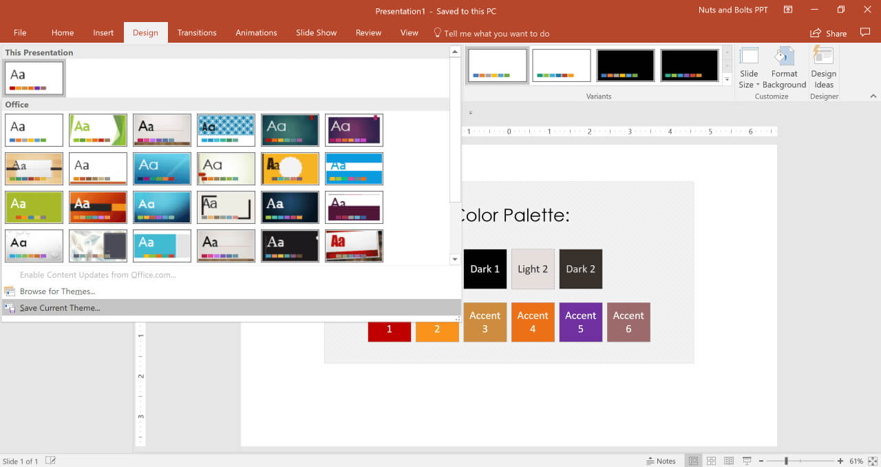 How To Create A Powerpoint Theme (Step-By-Step) inside How To Save A Powerpoint Template