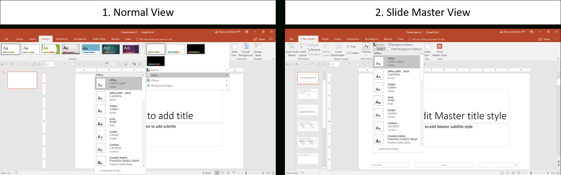 How To Create A Powerpoint Theme (Step-By-Step) throughout How To Save A Powerpoint Template