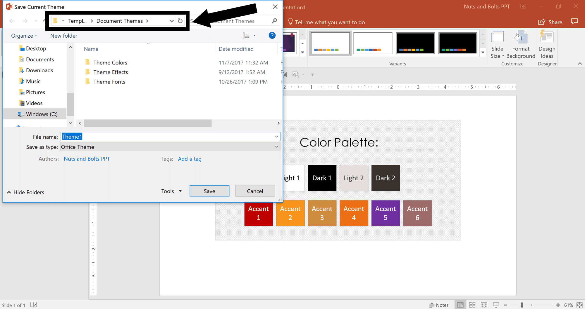 How To Create A Powerpoint Theme (Step By Step) With Regard To Save Powerpoint Template As Theme