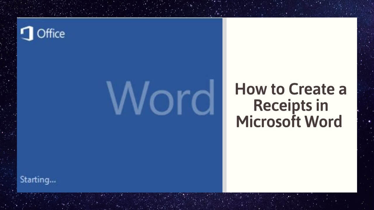 How To Create A Receipts In Microsoft Word With Regard To Invoice Template Word 2010