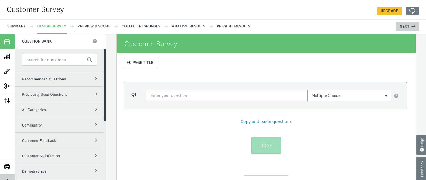 How To Create A Survey In Excel, Word, Google, Facebook intended for Event Survey Template Word
