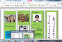 How To Create Brochure Using Microsoft Word Within Few Minutes throughout Brochure Templates For Word 2007