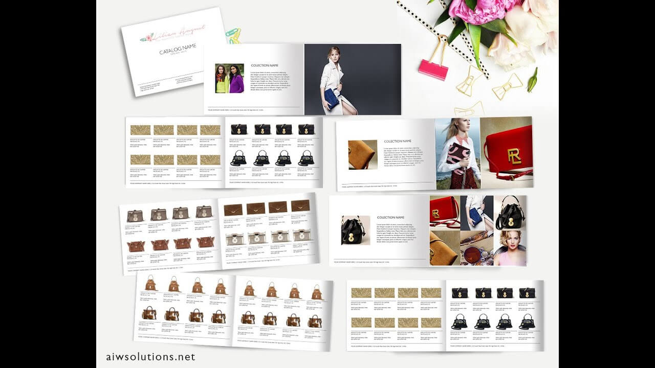 How To Create Catalog In Ms Word  Template Id02 Inside Word Catalogue Template