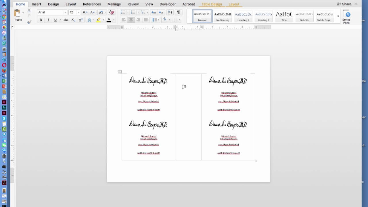 How To Create Two Page Flyer In Ms Office Word Document Inside Quarter Sheet Flyer Template Word