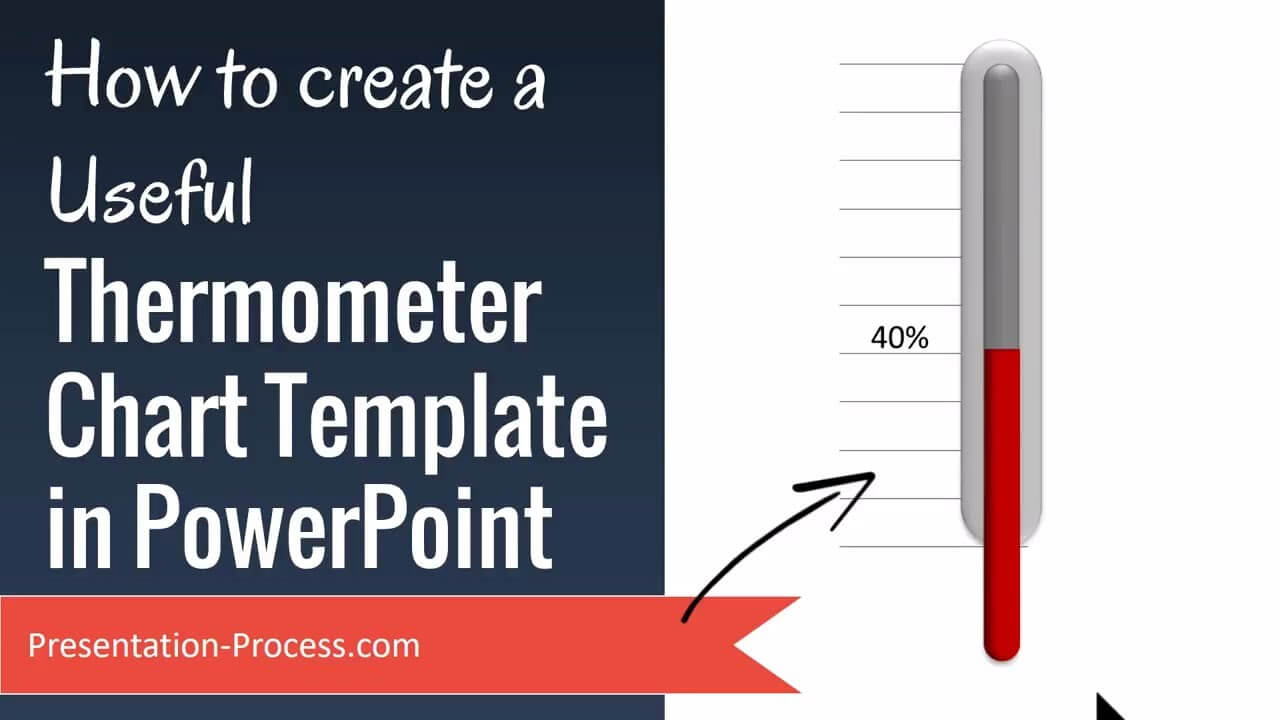 How To Create Useful Thermometer Chart Template In Powerpoint with Powerpoint Thermometer Template