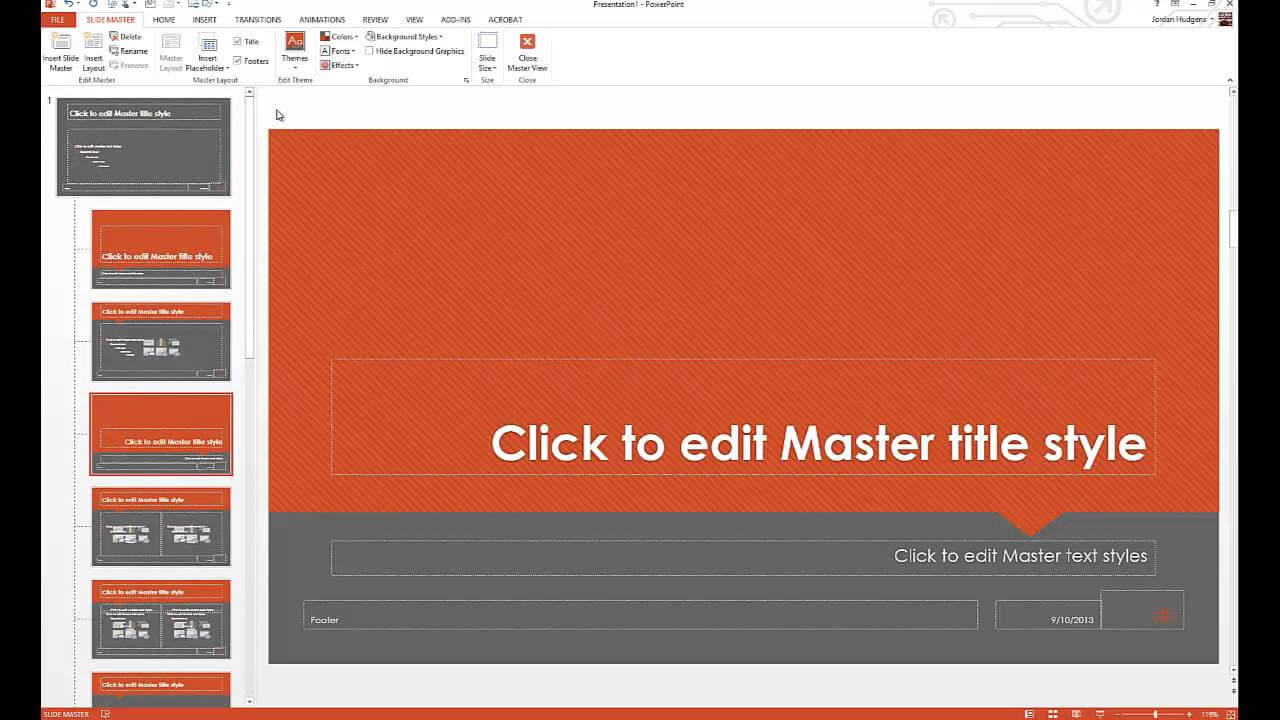 How To Customize Powerpoint Templates Regarding How To Edit A Powerpoint Template