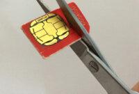 How To Cut Down A Sim Card: Make A Free Nano-Sim For Iphone throughout Sim Card Cutter Template