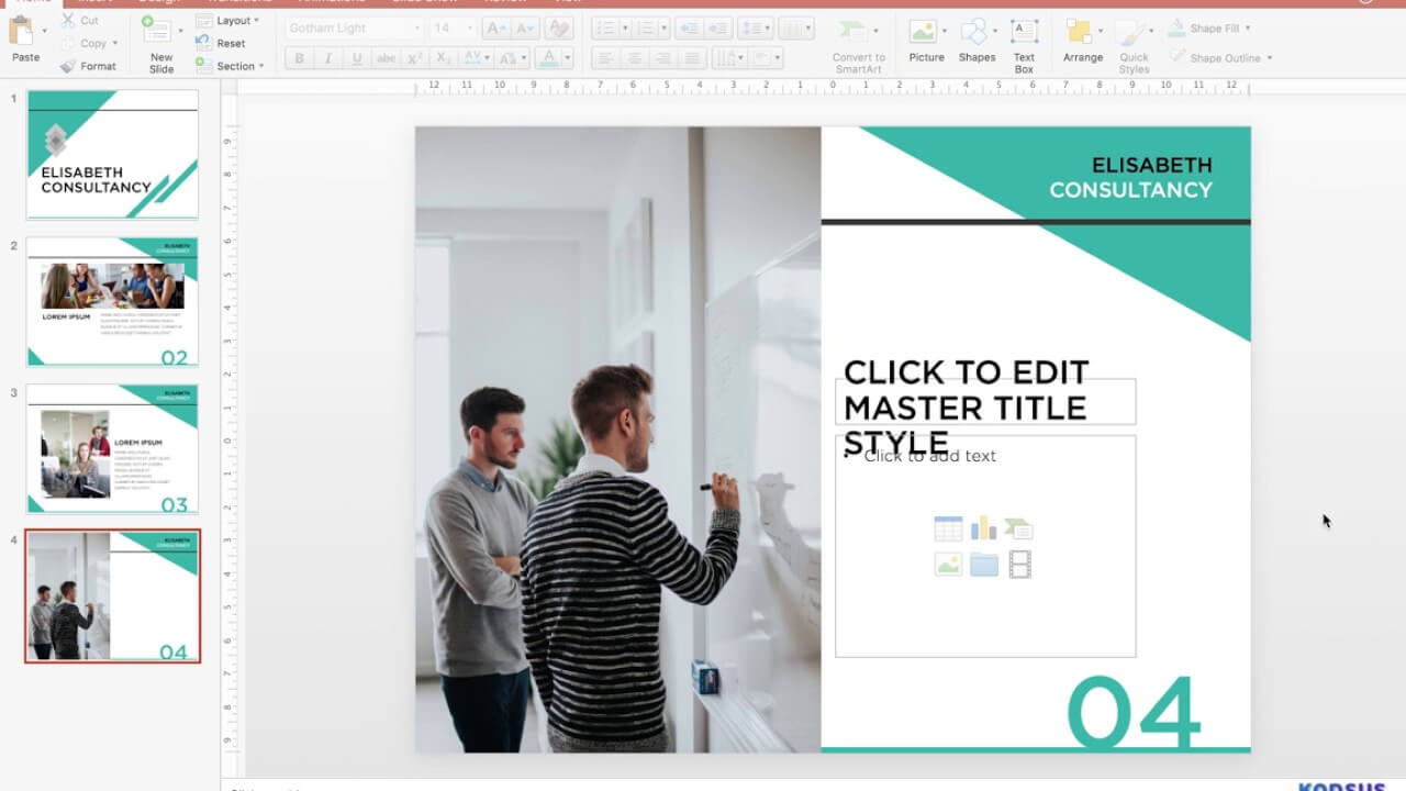 How To Design A Powerpoint Template | Watch A Powerpoint Pro With How To Design A Powerpoint Template