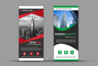 How To Design Roll Up Banner For Business | Photoshop Tutorial pertaining to Pop Up Banner Design Template