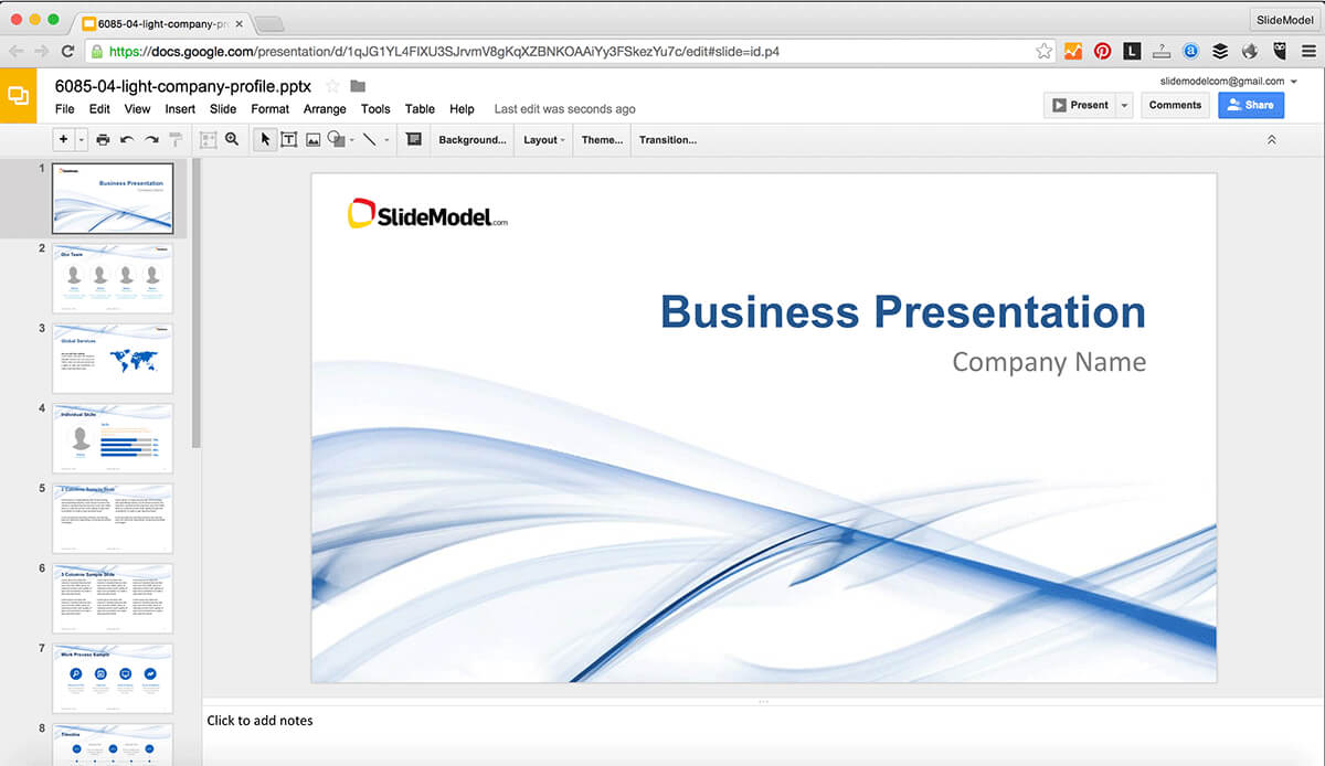 How To Edit Powerpoint Templates In Google Slides - Slidemodel With How To Edit A Powerpoint Template