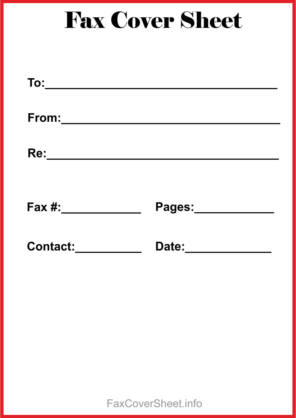 How To Find Blank Fax Cover Sheet Within Microsoft Word within Fax Template Word 2010