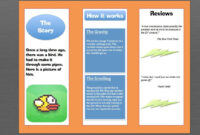 How To Make A Brochure In Microsoft Word | Photoshop | How within Ms Word Brochure Template