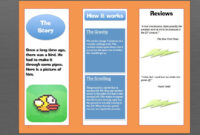 How To Make A Brochure In Microsoft Word Throughout Microsoft Word Pamphlet Template