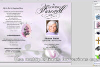 How To Make A Funeral Program In Word throughout Free Obituary Template For Microsoft Word