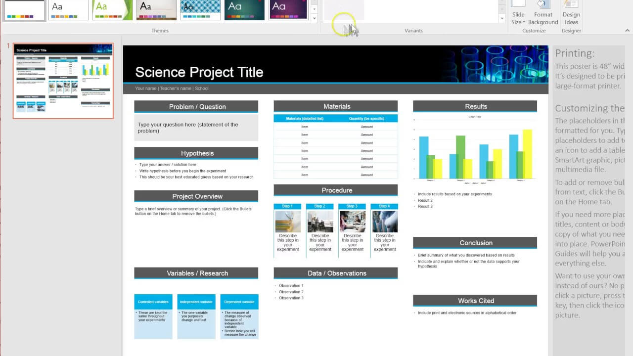 How To Make A Poster Template In Powerpoint for Powerpoint Academic Poster Template